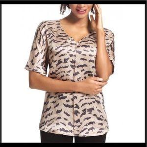 CAbi Silk Cloud Style #569 Top